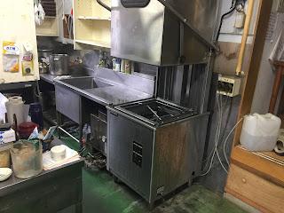 古い食器洗浄機