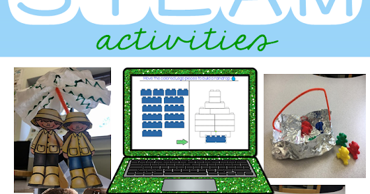 April STEAM Activities