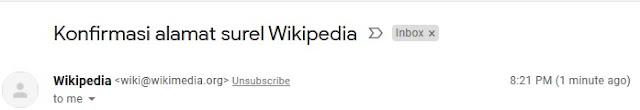 alamat email masuk
