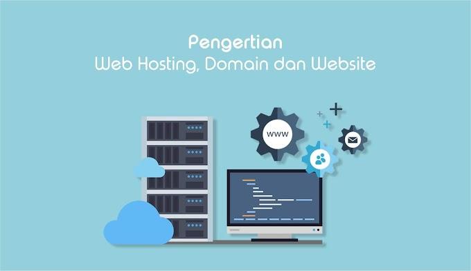 Pengertian Lengkap Web Hosting, Domain dan Website