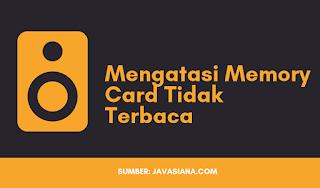 Cara Mengatasi Memory Card Tidak Terbaca di Speaker Al Qur an dan Penyebabnya
