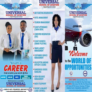 Universal School of Aviation Admission Forms 2019/2020 [How to Apply]