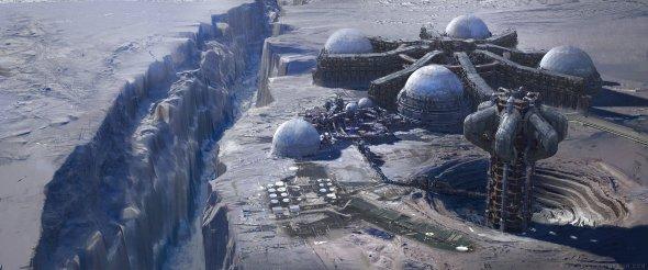 Allen Wei artstation ilustrações artes conceituais filmes ficção científica espacial