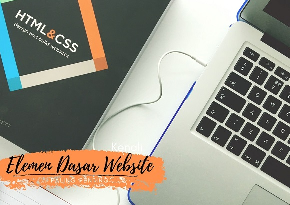 elemen dasar website paling penting ala cakrawala susindra apa saja