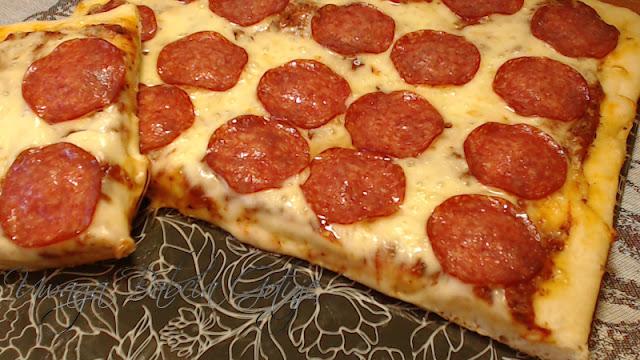 przepis na pizze z salami