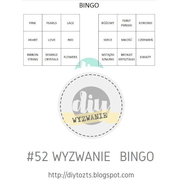 Wyzwanie  - BINGO