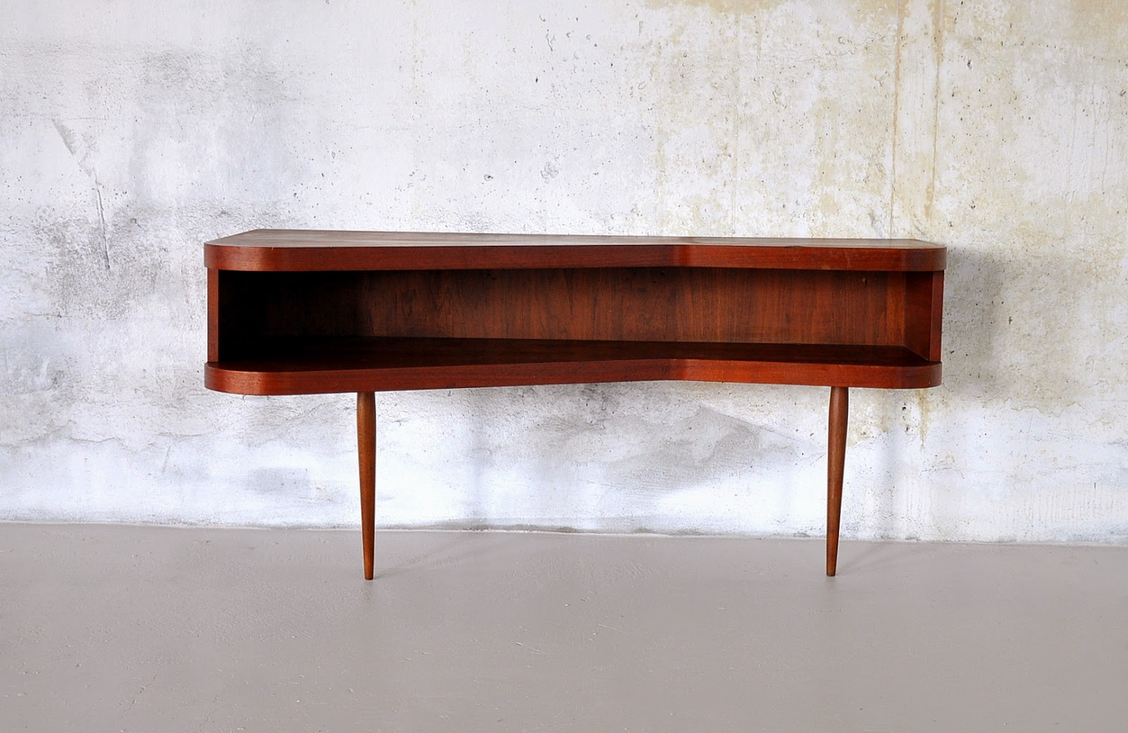 Select modern danish modern console or sofa table for Sofa wall table