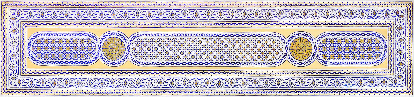 Mosquée Es-Salam Tourcoing - Motifs, arabesques, carrelage