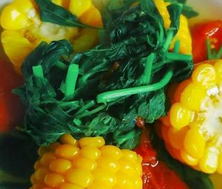 Resep Serta Tutorial Membikin Sayur Bening Bayam Jagung Yang Sehat
