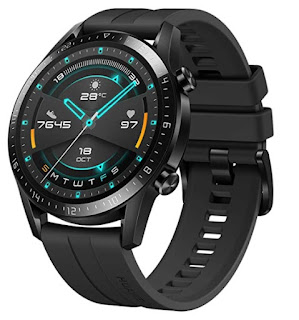 HUAWEI Watch GT 2 Sport 46mm, 2 Weeks Battery, Music Playback, Answer Calls, Water Resistant, Heartrate Monitor