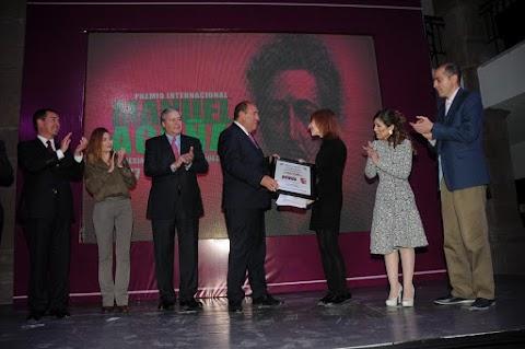 NOTICIAS Recibe Ana Isabel Conejo Alonso, el Premio Internacional Manuel Acuña de Poesía en Lengua Española 2017