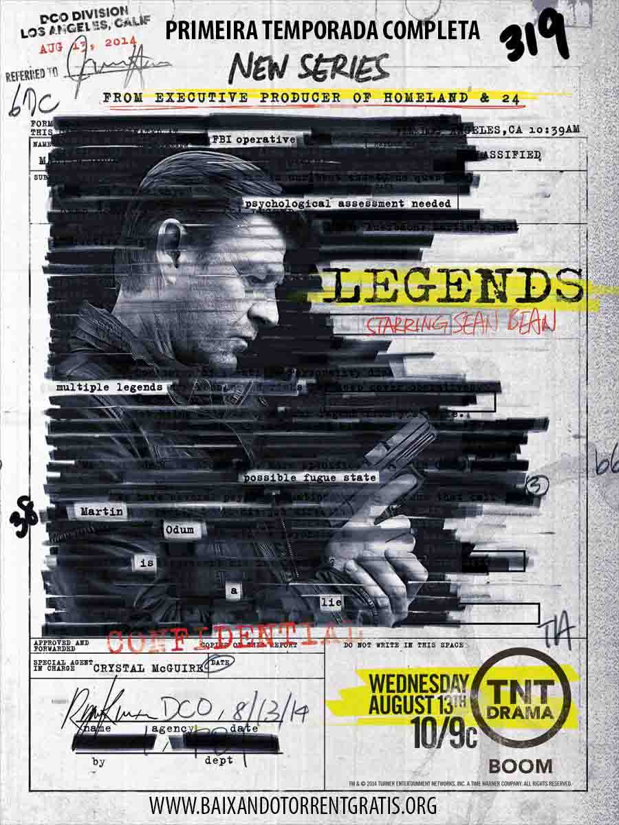 Legends 1ª Temporada Torrent - WEB-DL 720p Dual Áudio (2015)