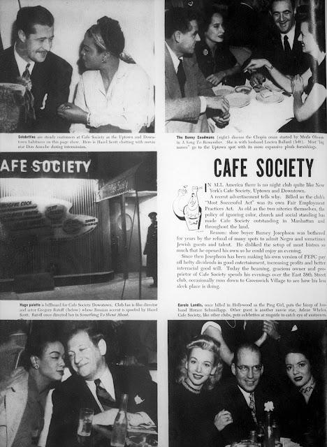 Carole Landis Cafe Society