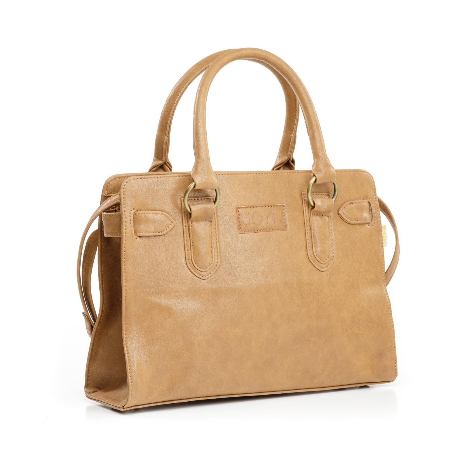 Joyn Mamta Vegan Handbag In Camel