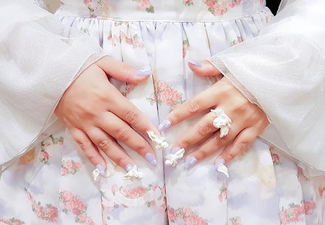 lolita fashion austria vitae essentia auris lothol putten engel angelic pretty nails nägel