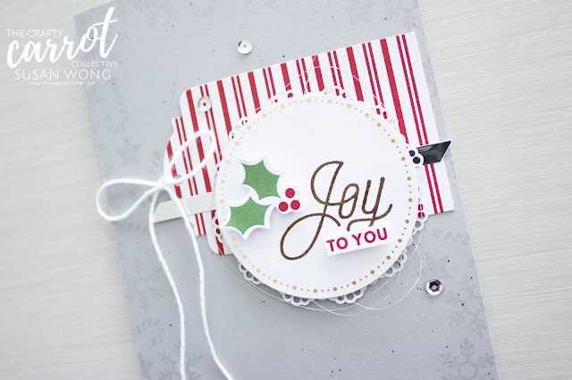 Easy Sincerely Santa Project Kit by Stampin' Up! alternative - Susan Wong for the Crafty Carrot Co.