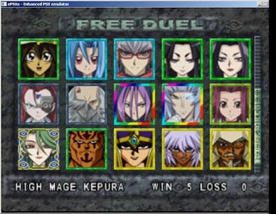 [PS1] Yugioh! Forbidden Memories VN Mod 2017 1