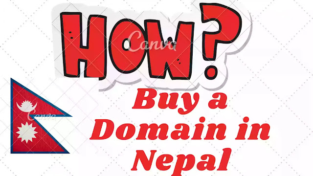 How to buy a custom domain in Nepal