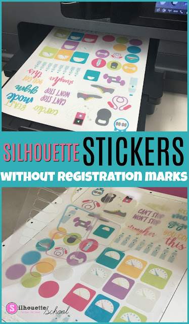 silhouette 101, silhouette america blog, online labels, silhouette sticker, silhouette stickers