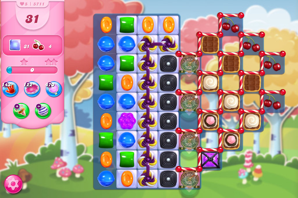 Candy Crush Saga level 5711