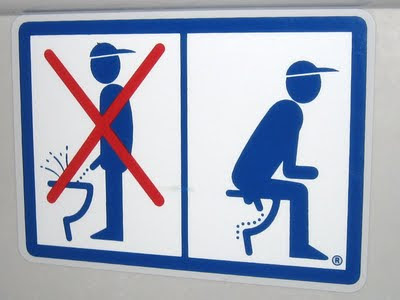 Germany Toilet Sign