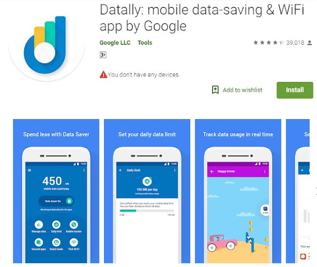 What is the Google Datally App? How Does Datally work?  Datally Really Save Your Data? : https://www.mdigitalera.com/2018/09/what-is-google-datally-app-how.html