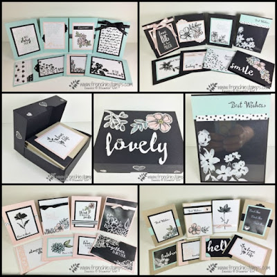 32 cards with Petal Passion, Box for greeting card DIY, Stampin'Up!