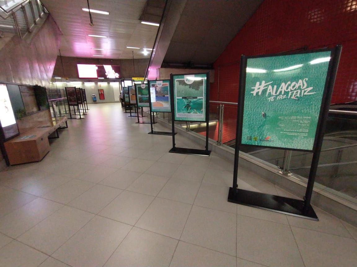 A EXPO ALAGOAS está de volta ! ! ! Agora na Estação Paulista do Metrô em São Paulo