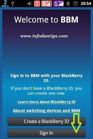 Cara mengembalikan (reset) password BBM (Blackberry Messenger)