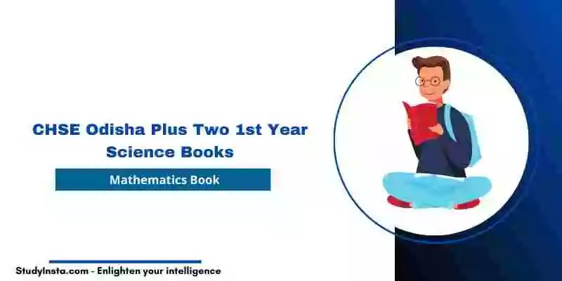 CHSE Odisha Mathematics Book PDF - Plus Two 1st Year Science 2021