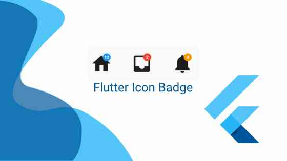 Flutter icon badge