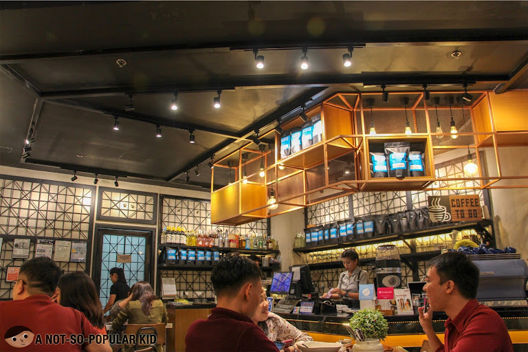 Interior of Bluesmith Coffee & Kitchen, Makati