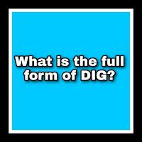 DIG Full Form In Police. DIG Full Form