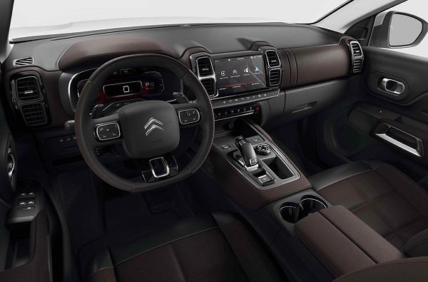 Interior Citroën C5 Aircross