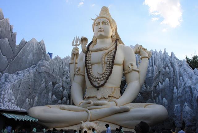 Lord Shiva statue in Bangalore