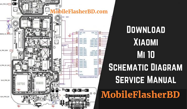 Xiaomi Mi10 Schematic Diagram Download Service Manual Full
