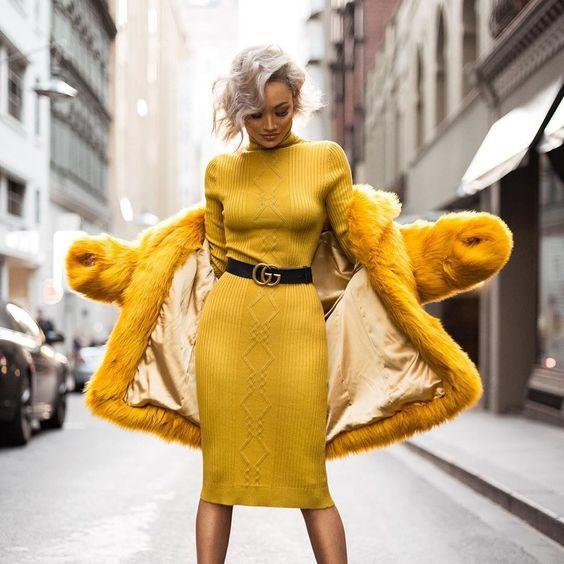 En İyi Sarı Renk Kombinleri