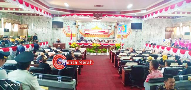 Peringati HUT ke-73 Lampura, Ketua DPRD Lampung Utara Ajak Seluruh Elemen Giat Bekerja