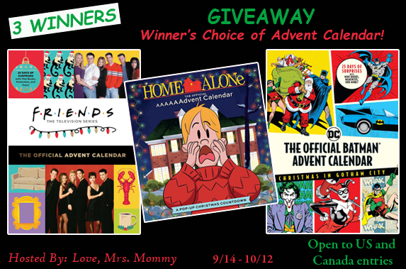 Insight Editions Advent Calendar Giveaway ~ Ends 10/12 #MySillyLittleGang