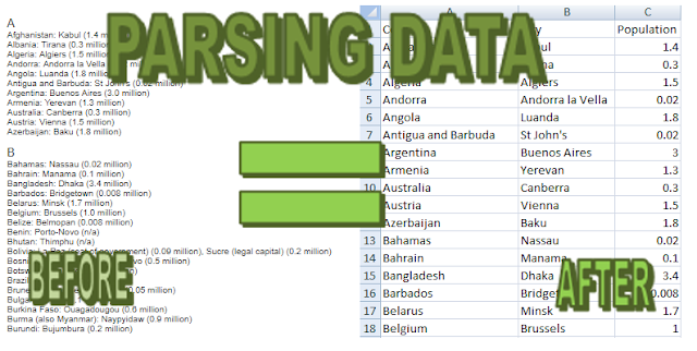 how to parse data