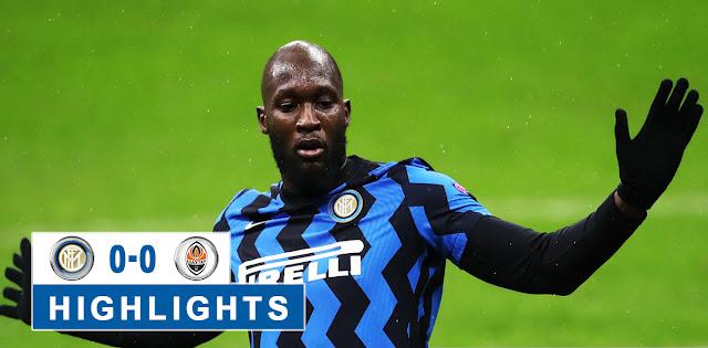 Inter vs Shakhtar Donetsk – Highlights