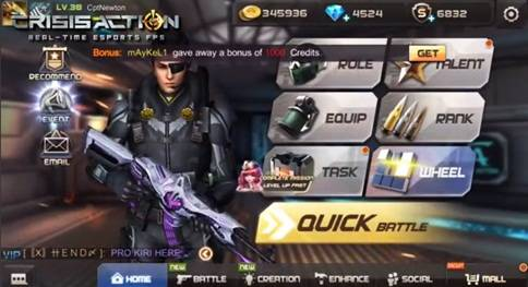 Tips Cara Bermain Crisis Action Di Android