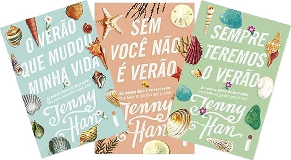 Trilogia Verão - Drama familiar/ Literatura. Livros