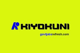 Lowongan Kerja Terbaru PT. Kiyokuni High Precision Automoive Indonesia Bulan November 2018