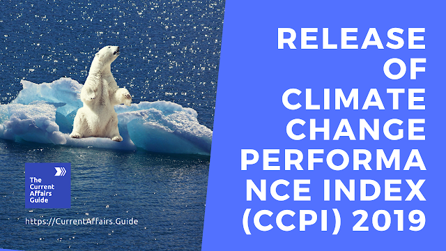 Release of Climate Change Performance Index (CCPI) 2019