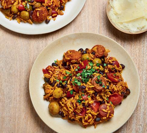 Spanish Chorizo Rice recipes
