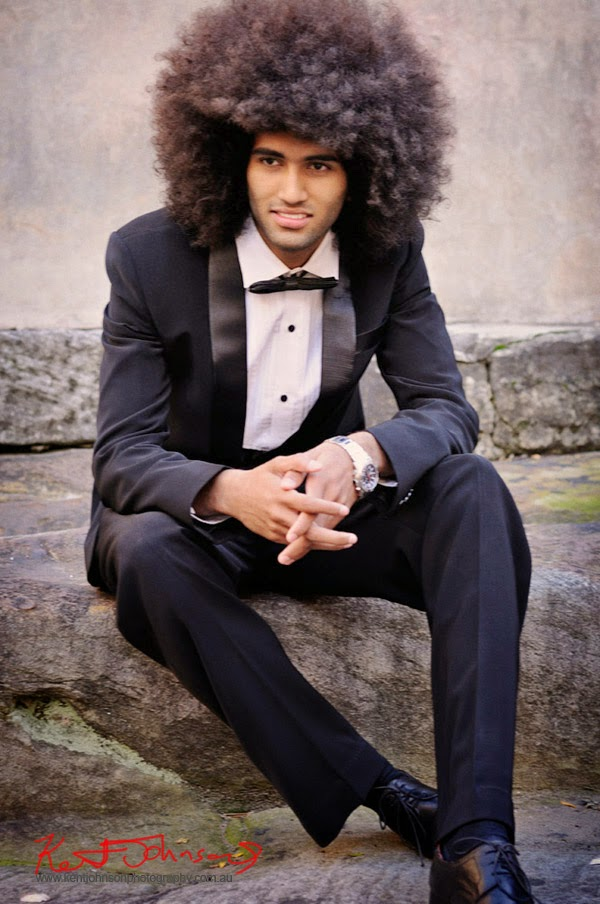 Black Tie, morning after? - Menswear Modelling portfolio photography by Kent Johnson