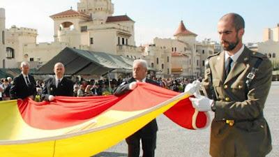 bandera, españa, cataluña, nacional, 1 de octubre
