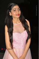 Actress Nidhisha Reddy Pos in Beautiful Pink Dress at Virus Telugu Movie Audio Launch .COM 0009.JPG
