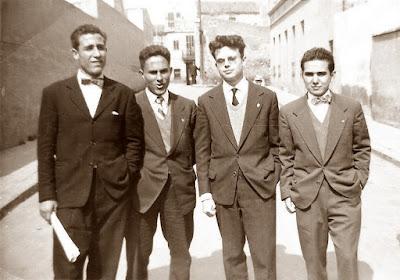 Componentes del equipo juvenil del Casal Catòlic de Sant Andreu de 1958